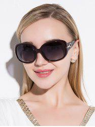 Rhinestone Decoration Anti UV Sunglasses