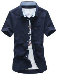 Short Sleeve Button Down Pocket Shirt