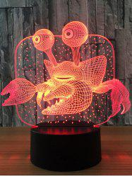 Crab Color Changing LED 3D Visual Night Light