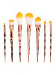 7Pcs Diamond Shape Makeup Brushes Set