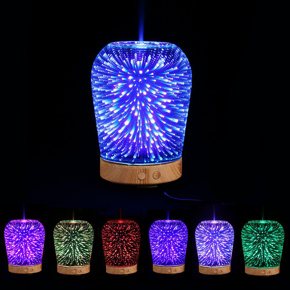 2018 3d Color Changing Led Light Aromatherapy Oil Diffuser