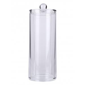 Cylinder Shaped Cosmetic Organizer Makeup Storage Bucket