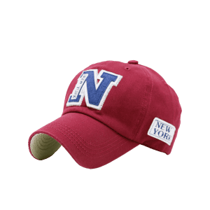 Sunproof Letters Baseball Hat - RED