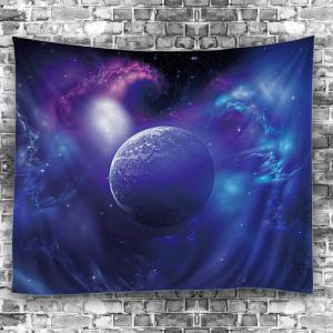 Wall Hanging Outer Space Star Earth Tapestry -