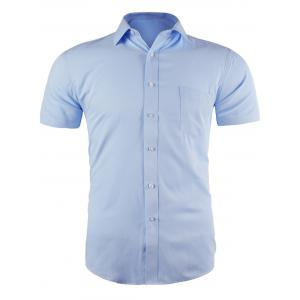Short Sleeve Pocket Business Shirt