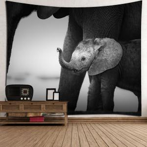 Home Decor Vintage Elephant Print Wall Tapestry -