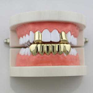 Hip Hop Funny Top Bottom Teeth Grillz Set -