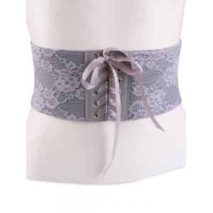 Lace Up Vintage Lacework Corset Belt