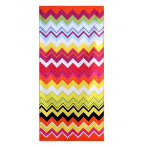 Stripe Pattern Rectangle Bath Towel