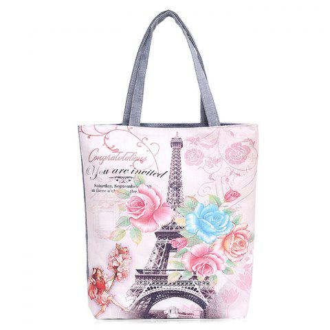 Buy Printed Canvas Shoulder Bag