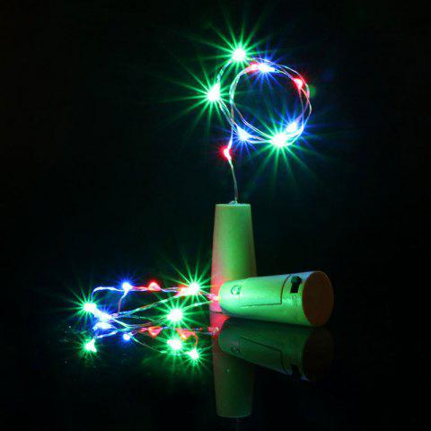 Outfits Decorative Colorful 2PCS Bottle Stopper LED String Light - COLORFUL  Mobile
