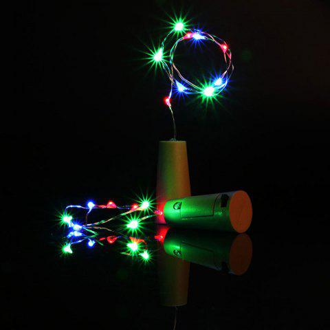 Discount Decorative Colorful 2PCS Bottle Stopper LED String Light - COLORFUL  Mobile