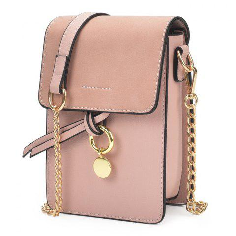 Sac Candy Color Mini Crossbody ROSE PÂLE