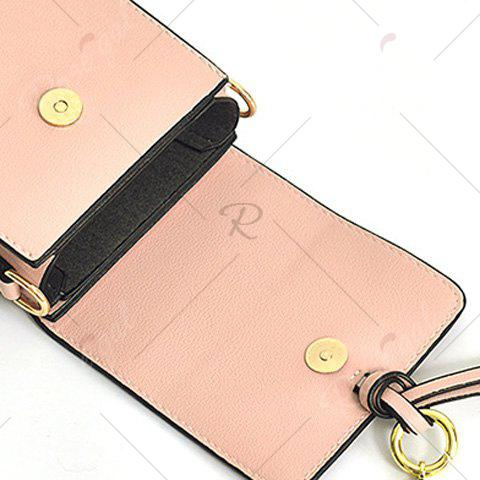 Shop Candy Color Mini Crossbody Bag - PINK  Mobile