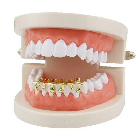 Trendy Lava Hip Hop Bottom Teeth Grillz