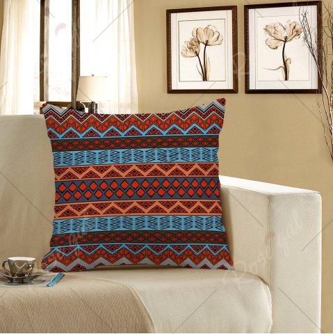 Fashion Home Decor Bohemian Geometric Print Pillow Case - 45*45CM COLORFUL Mobile