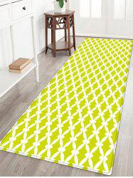 Patterned Anti-skid Water Absorption Indoor Outdoor Area Rug