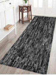 Brick Wall Print Crystal Velvet Fabric Bath Rug