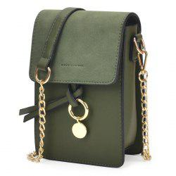 Candy Color Mini Crossbody Bag - GREEN