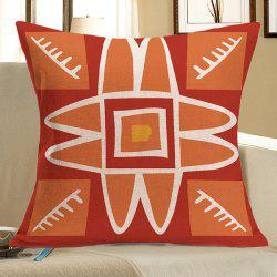 Home Decor Bohemian Geometric Linen Pillow Case