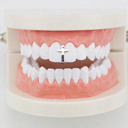 Hip Hop Top Crucifix Teeth Grillz