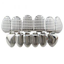 Hip Hop Cool Top Bottom Teeth Grillz Set