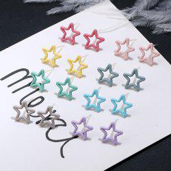 Star Cute Tiny Stud Earring Set