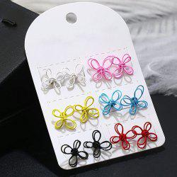 Chinese Knot Stud Tiny Earring Set