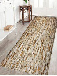Skidproof Crystal Velvet Fabric Brick Wall Bath Rug