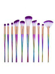 Glitter Canton Tower Makeup Brushes Set