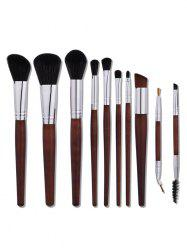 Aluminum Tube Nylon Makeup Brushes Set