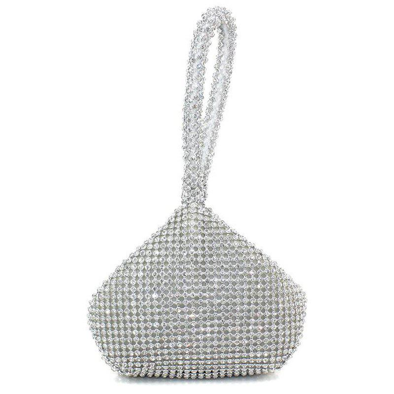 Outfits Geometric Shaped Rhinestone Evening Bag