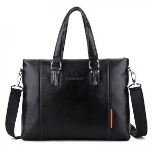 Faux Leather Metal Detail Tote Bag - Black