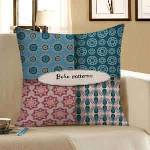 Boho Pattern Flower Home Decor Pillow Case - Colorful - 45*45cm