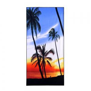 Tropical Coconut Tree Beach Soft Bath Towel