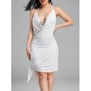 Halter Backless Club Mini Dress