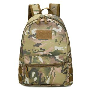 Hook and Loop Nylon Backpack