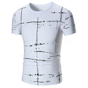 Allover Painted Short Sleeve T-shirt