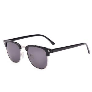 Anti UV Street Snap Sunglasses and Box - Black