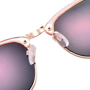 Anti UV Street Snap Sunglasses and Box - PINK