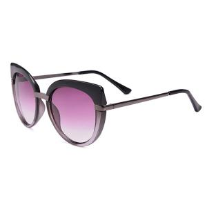 Cat Eye Oversized Anti UV Sunglasses with Box