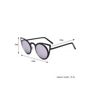 Kitten Eye Anti UV Sunglasses and Box - BLACK