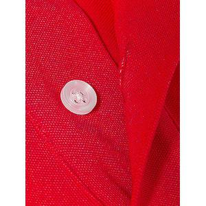 Plus Size Embroidered Polo Shirt -