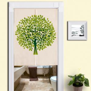 Tree Pattern Home Product Artistic Door Curtain