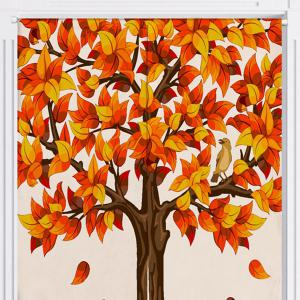 Fall Tree Print Home Produit Rideau de porte -