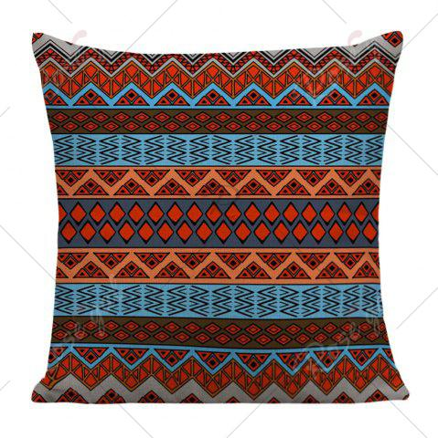 Cheap Home Decor Bohemian Geometric Print Pillow Case - 45*45CM COLORFUL Mobile