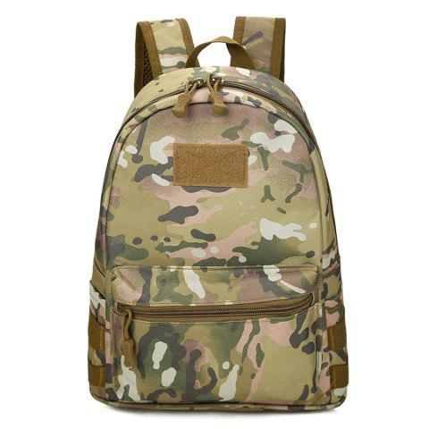 Hook and Loop Nylon Backpack - Urban Camouflage - 40