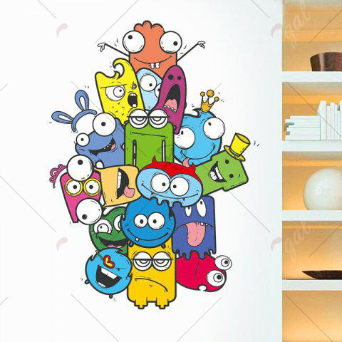 Hot Cartoon Removable Vinyl Nursery Wall Sticker - 50*70CM COLORMIX Mobile
