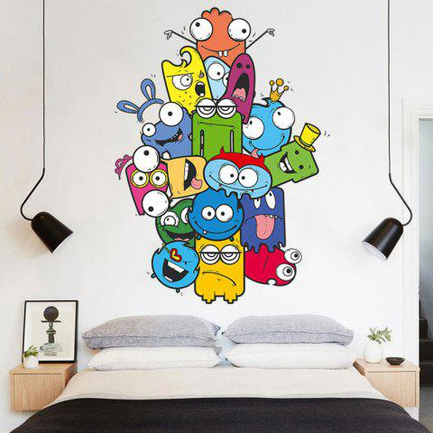 Buy Cartoon Removable Vinyl Nursery Wall Sticker - 50*70CM COLORMIX Mobile