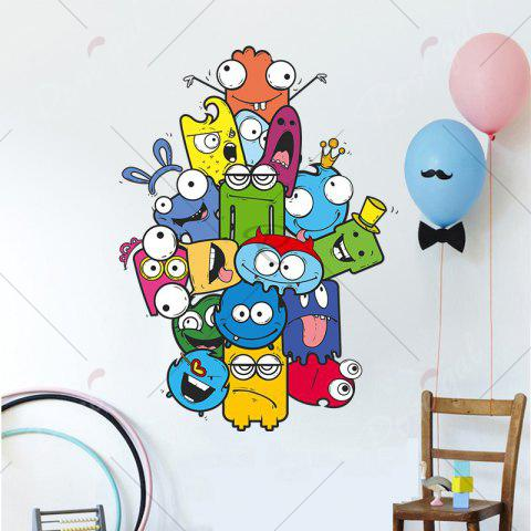 Best Cartoon Removable Vinyl Nursery Wall Sticker - 50*70CM COLORMIX Mobile
